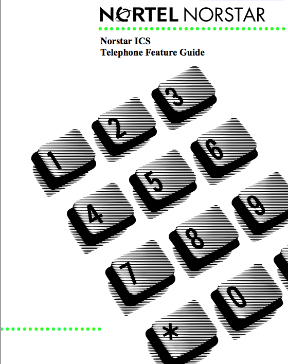 Nortel bcm Programming Guide voicemail user Manual